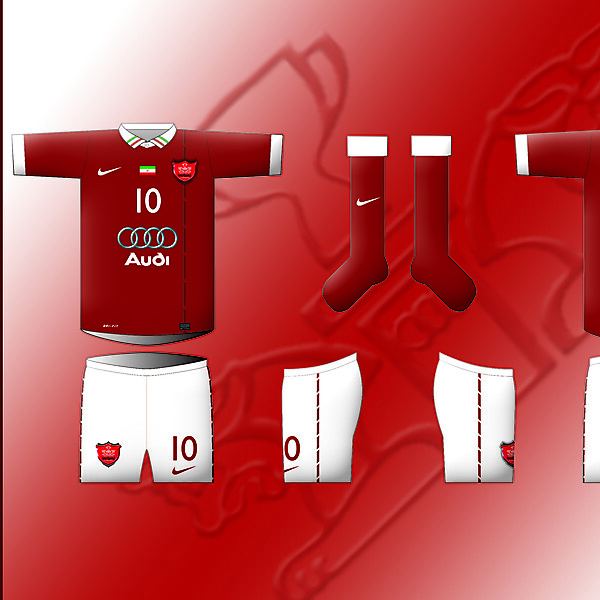 FC PERSPOLIS - Home Kit By Nike