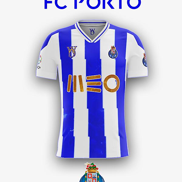 FC Porto concept home kit