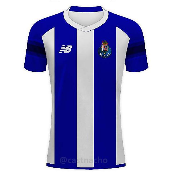 FC Porto Home 2016/17 - New Balance Concept