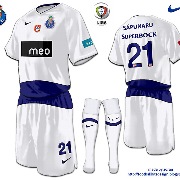 FC Porto third fantasy