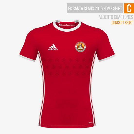 FC Santa Claus 2016 Concept Shirt