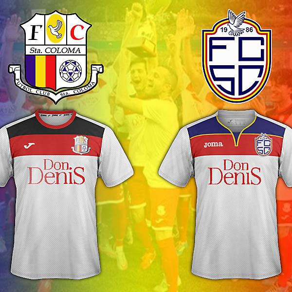 FC Santa Coloma transformation