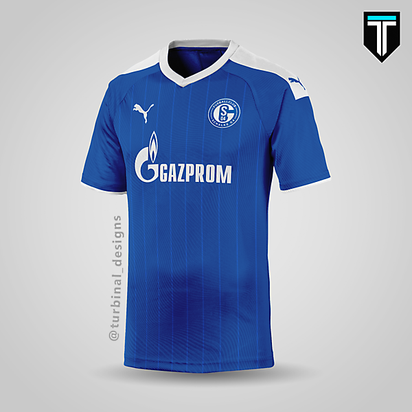 FC Schalke 04 x Puma - Home Kit