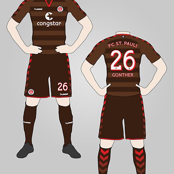 FC St. Pauli Home Kit