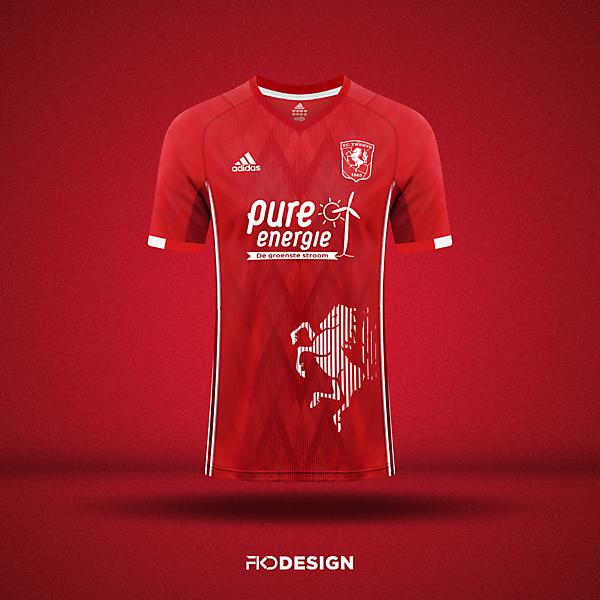 FC Twente    Adidas Home Jersey