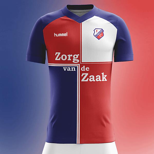 FC Utrecht 2017/2018 Home Concept