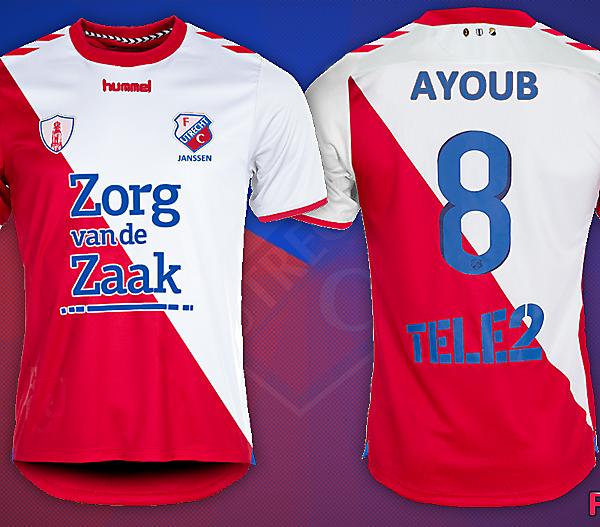 FC Utrecht Fantasy Shirt Kit Design 2