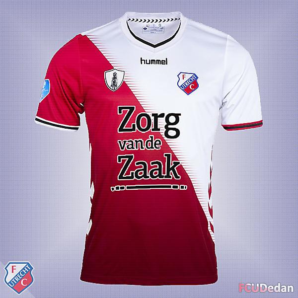 FC Utrecht Fantasy Shirt Kit Design 3