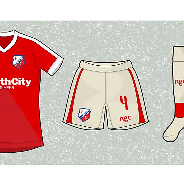 FC Utrecht Home kit - ngc