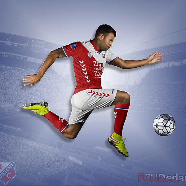 FC Utrecht Home Kit 2018-2019