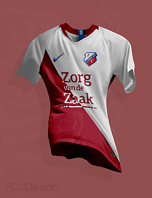 FC Utrecht Nike Fantasy Home Kit