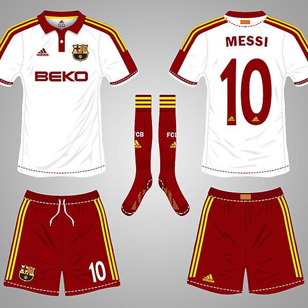 FCB Away kit 18/19