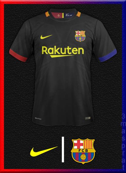 FCBarcelona Away