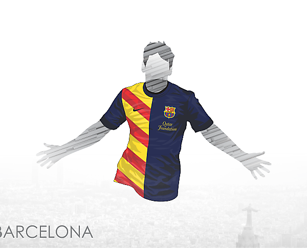 FCBarcelona Senyera kit