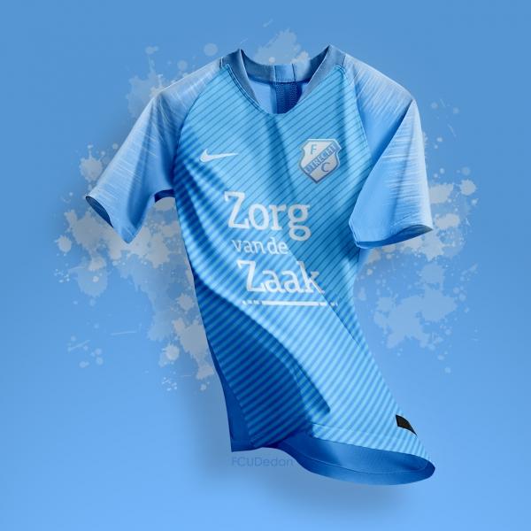FCUtrecht Nike Vaporknit Fantasy Third Shirt