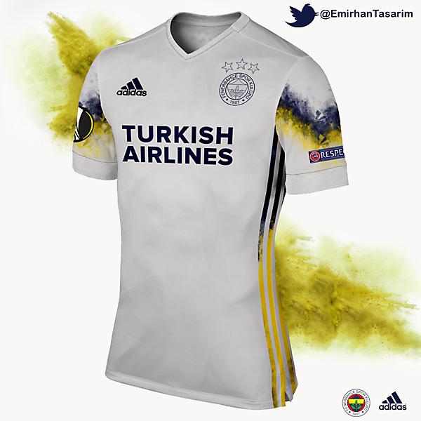 Fenerbahçe 16/17 3rd Kit Design