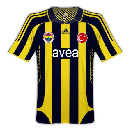 Fenerbahçe Home 09/10