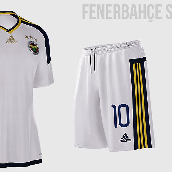 Fenerbahçe 2015-2016 Kit Design