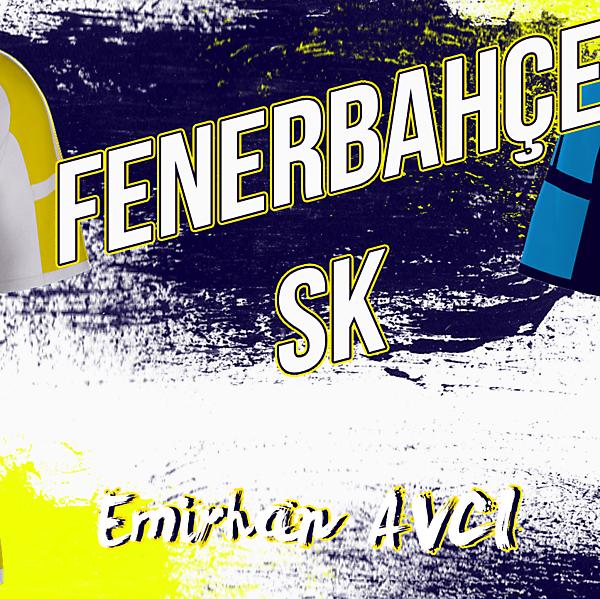 Fenerbahçe Kit Design