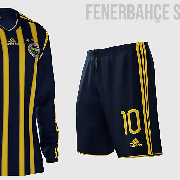 Fenerbahçe SK 2015/2016 Home Kit