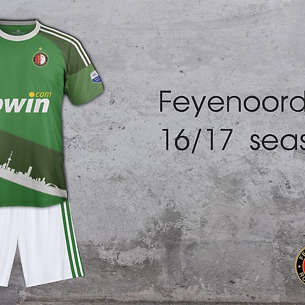 Feyenoord Away 16/17