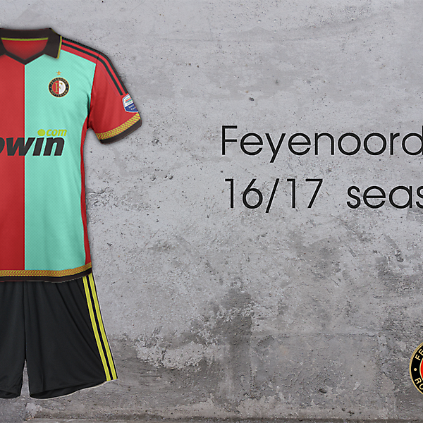 Feyenoord Home 16/17