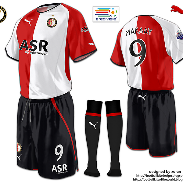 Feyenoord fantasy home