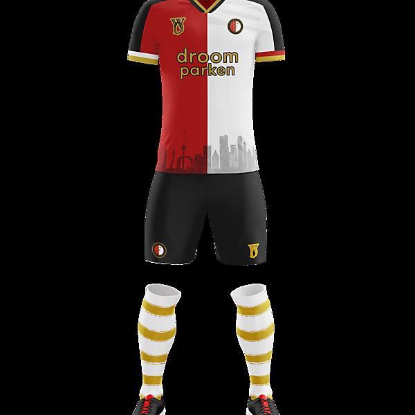 Feyenoord Rotterdam home kit