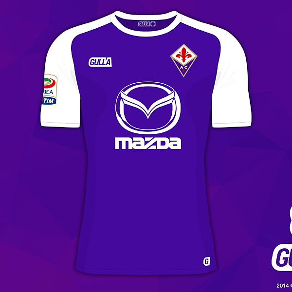 Fiorentina Home - Gulla