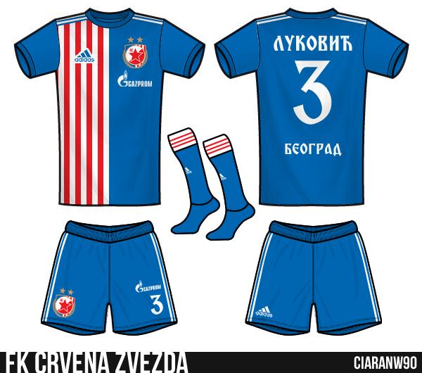 FK Crvena Zvezda - Away
