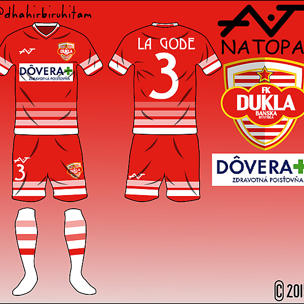 FK Dukla Banska Bystrica Fantasy Home Kit