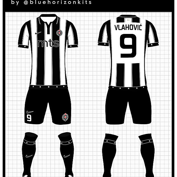 FK Partizan Belgrade Home Kit