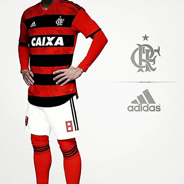 Flamengo x Adidas Home concept kit