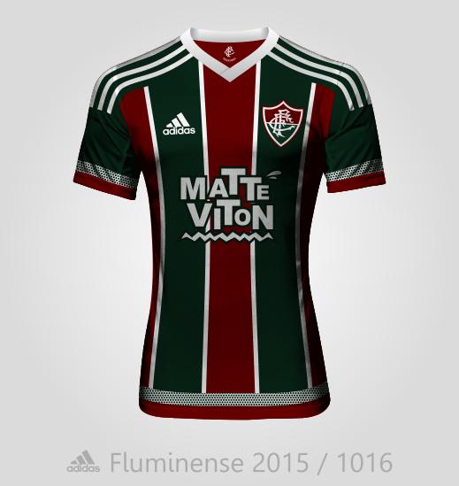 Fluminense home kit 2015/2016