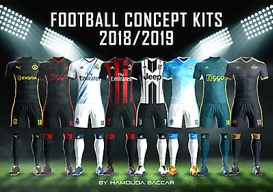Football Concept Kits 2018/2019