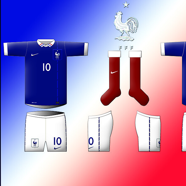 France - Home Kit By Nike