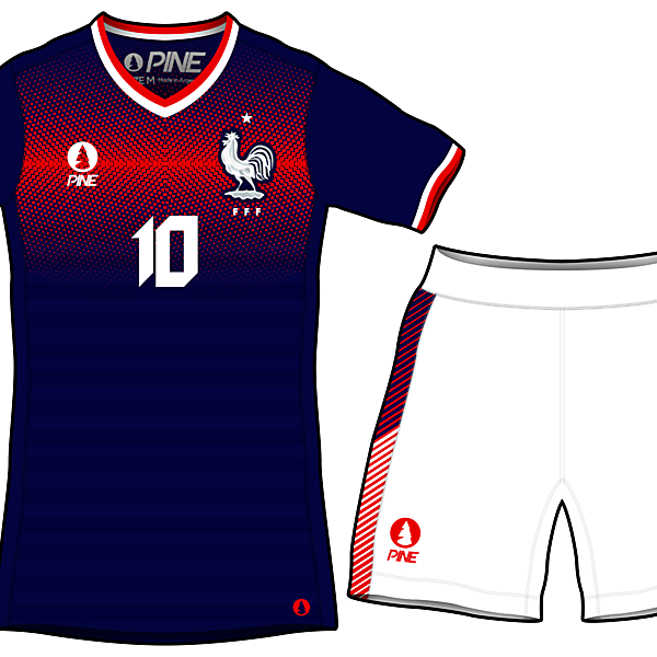 France 2018 WC Home Concept Kits by Pine
