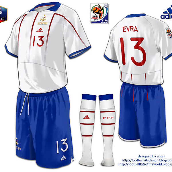 France World Cup 2010 fantasy away