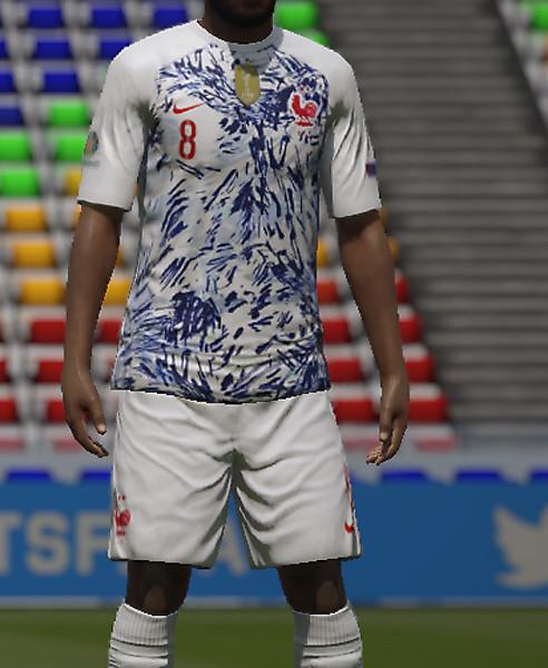 France Away kit EURO 2020