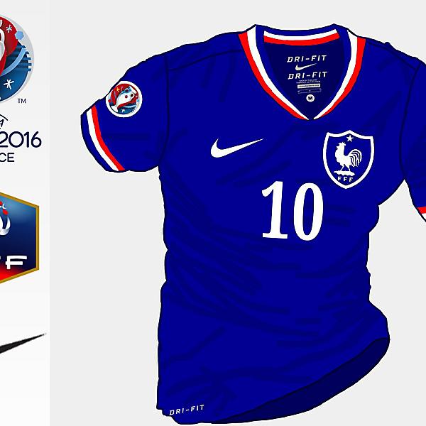 France Euro 2016 Home Shirt