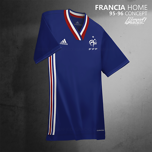 France Home // 95-96 Concept