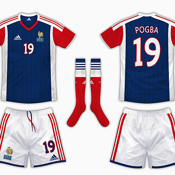 France Home Kit - Adidas
