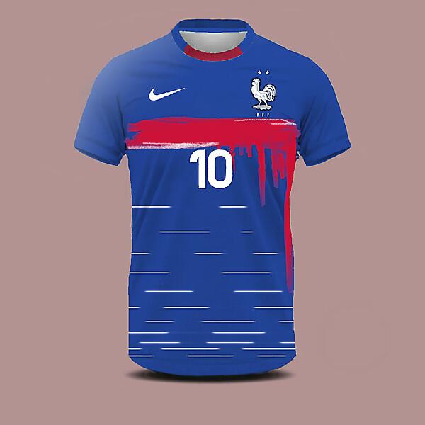 France home shirt concept
