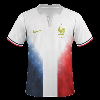 France Nike away kit / Maillot France Extérieur