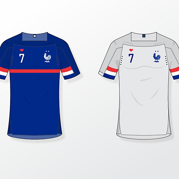 France NT [fantasy kits]