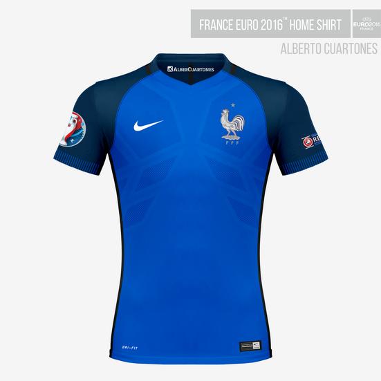 France UEFA EURO 2016™ Home Shirt