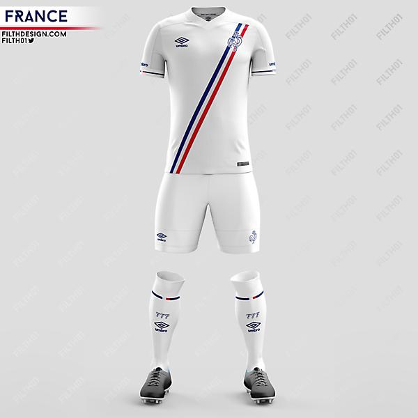 France x Umbro | Away Kit