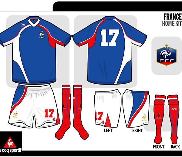 FFF Le coq sportiff kit