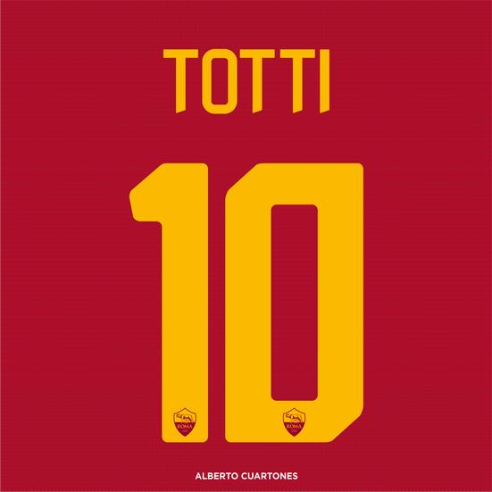 Francesco Totti farewell  Printing
