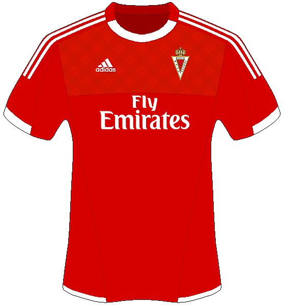 Real Murcia Home - Adidas Shirt